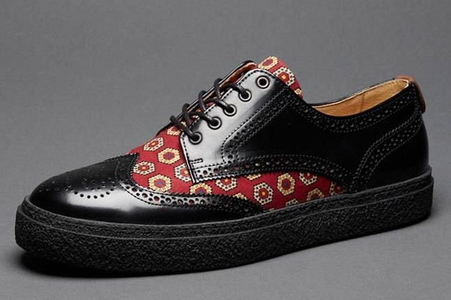 Fred Perry Drakes Medallion Shoes 1
