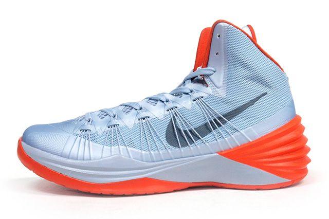Nike Hyperdunk 2013 Silver Orange 4