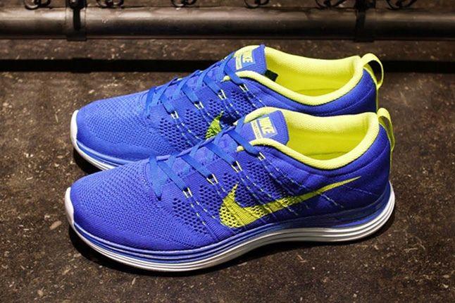 Nike Lunar Flyknit Blue Hero 1