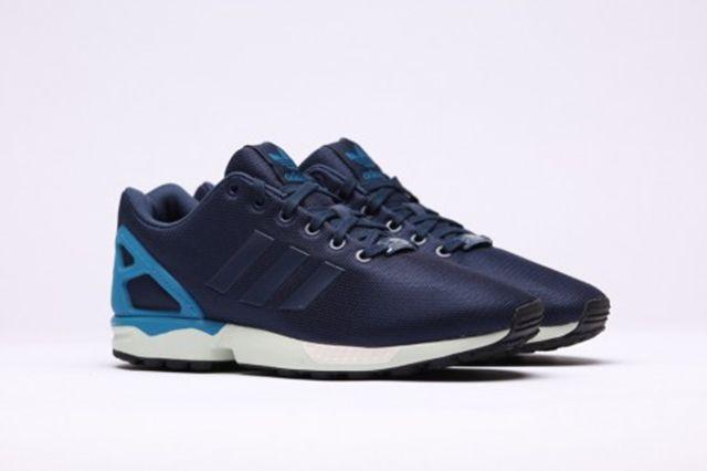 Adidas Zx Flux Dark Blue Dark Blue Hero Blue