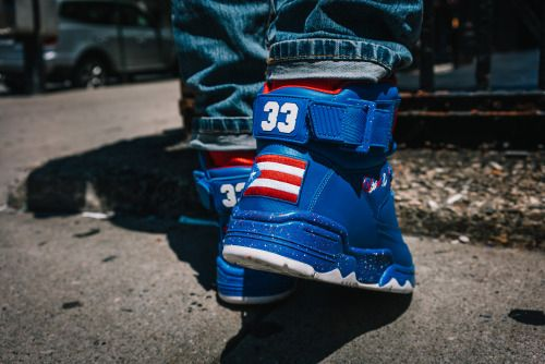 Ewing Big Pun 33 Hi Puerto Rico Heel
