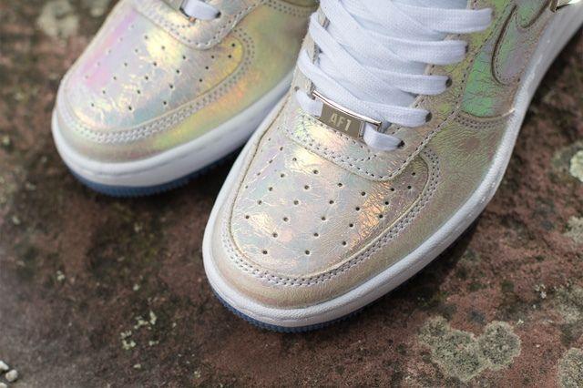 Nike Wmsn Lunar Force 1 Sky Hi Qs Mother Of Pearl 2