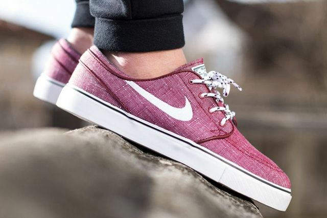 Nike Sb Stefan Janoski Canvas Team Red 04