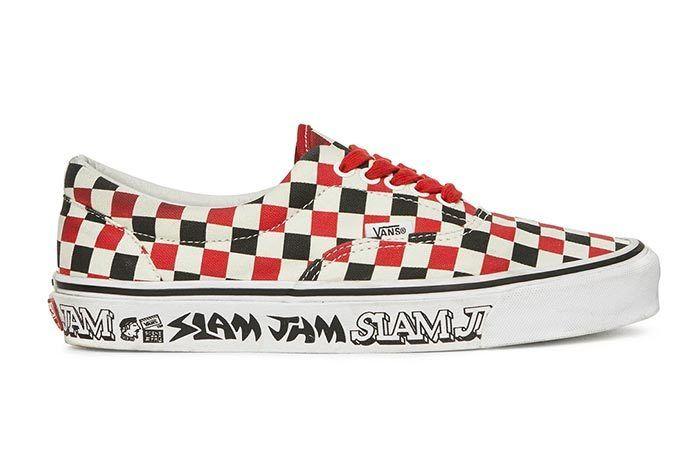Slam Jam X Vans Slip On 1