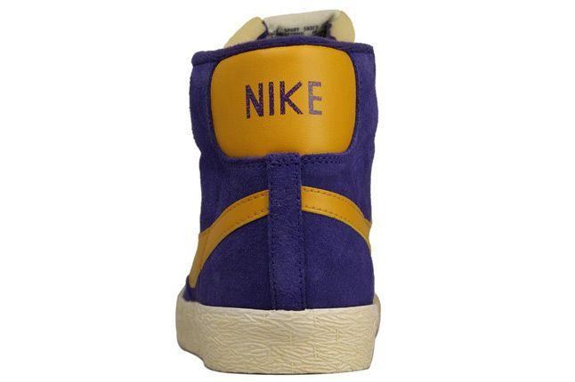 Nike Wmns Blazer Mid Suede Vntg Heel 1