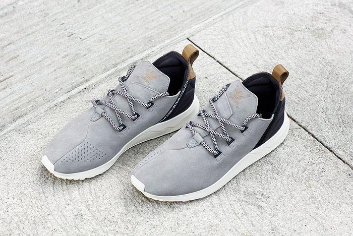 Adidas Zx Flux Adv X Grey Suede 3