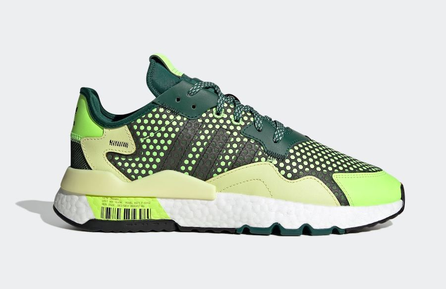 adidas Nite Jogger Signal Green Right