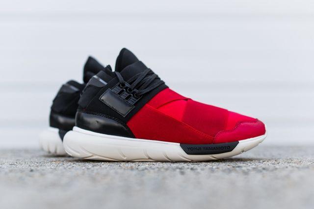 Adidas Y 3 Qasa High Black Red 3