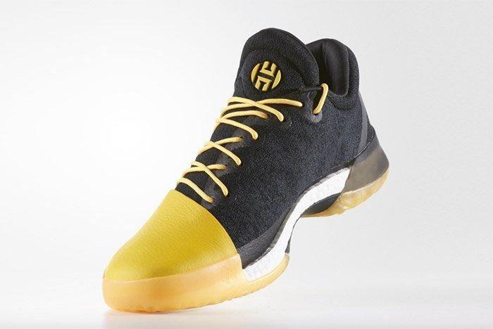Adidas Harden Vol 1 Black Yellow 3