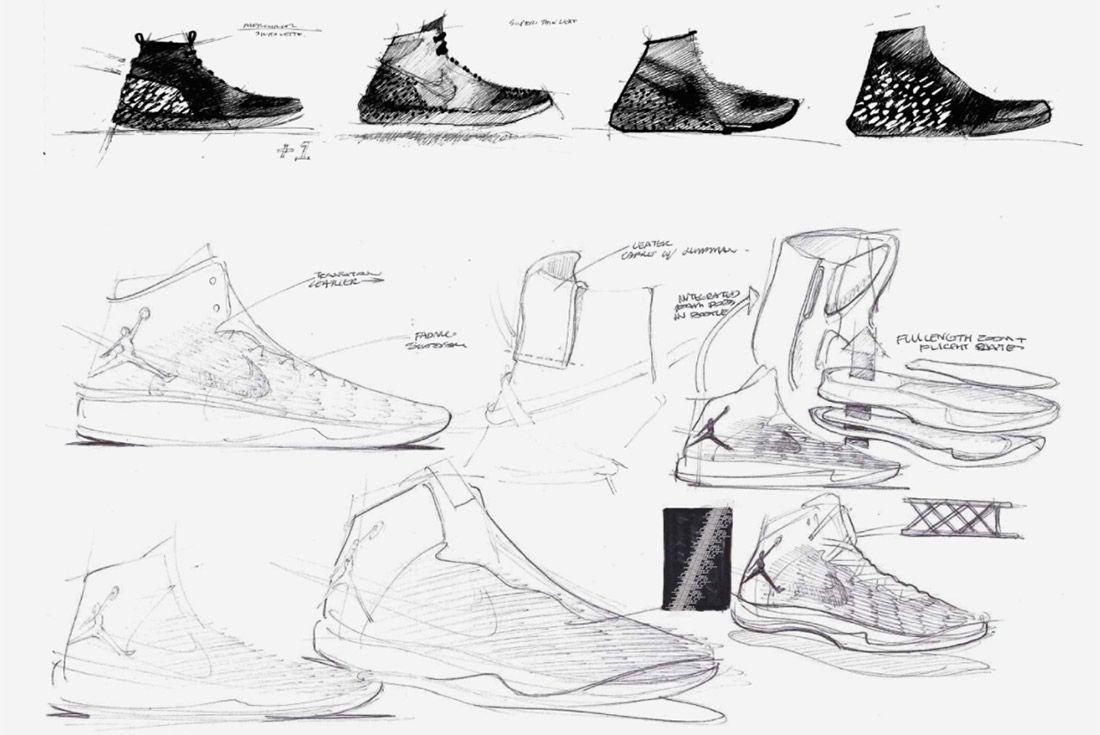 Material Matters Jordan Brand Jordan 31 Concept Sketch 1