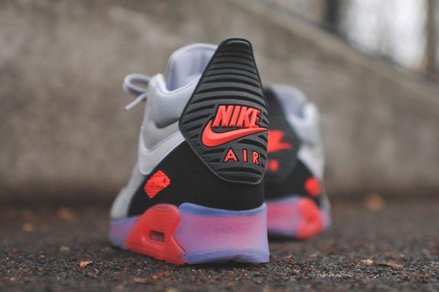 Nike Air Max 90 Sneakerboot Ice Infrared Bump 2