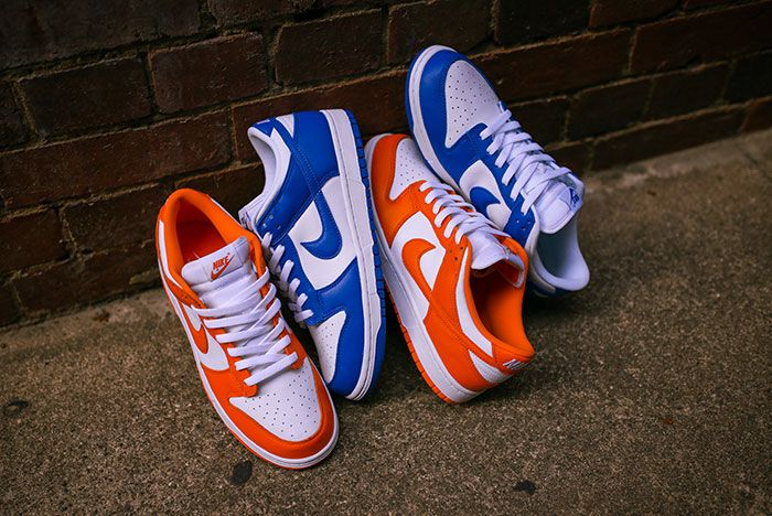 Nike Dunk Low Kentucky Syracuse Up Close Hero Shot Laced Sneaker Freaker10