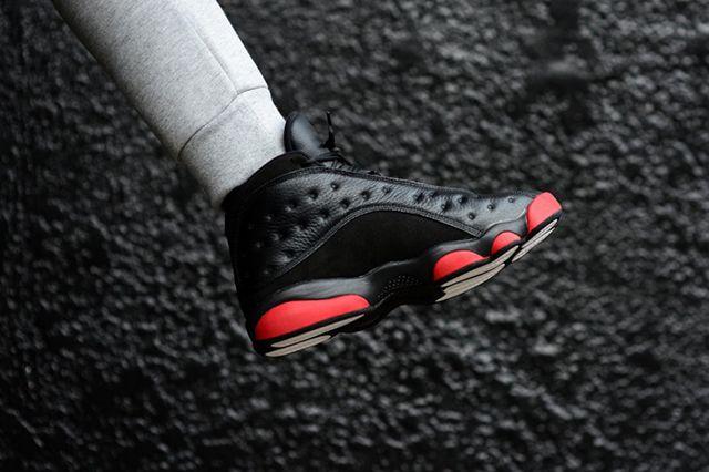 Air Jordan 13 Leather Bred 4