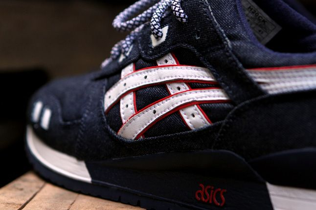 Ronnie Fieg Asics Gel Lyte Iii Selvedge Denim Side Close 1