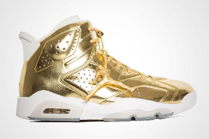 Air Jordan 6 Pinnacle Metallic Gold Thumb