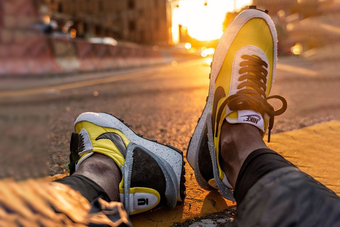 Nike Undercover Daybreak On Foot Sunset