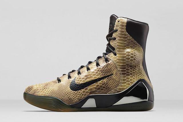 Nike Kobe 9 Ext Snakeskin Bump 2