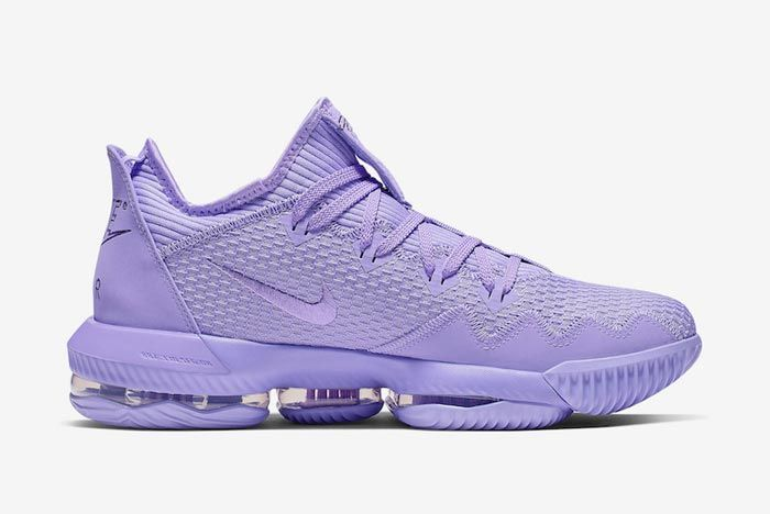 Nike Lebron 16 Low Purple Medial