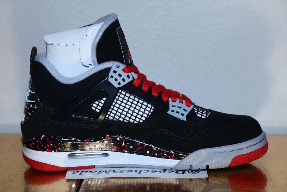 Drake Ovo Air Jordan 4 Splatter 6