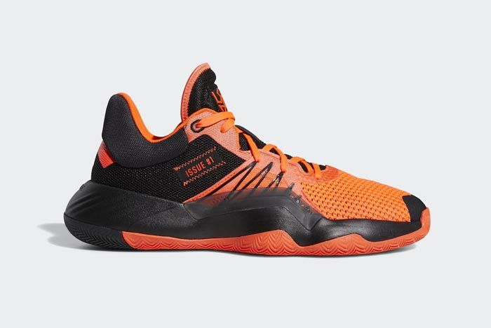 Adidas Don Issue 1 Solar Red Core Black Lateral