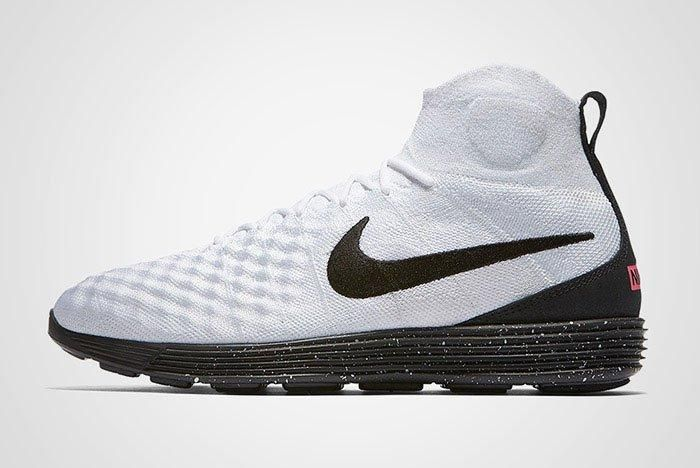 Nike 0 Lunar Magista Ii Flyknit White Black Thumb