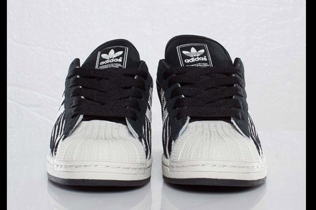 Adidas Originals Superstar 2 Zebra Front Toe 1