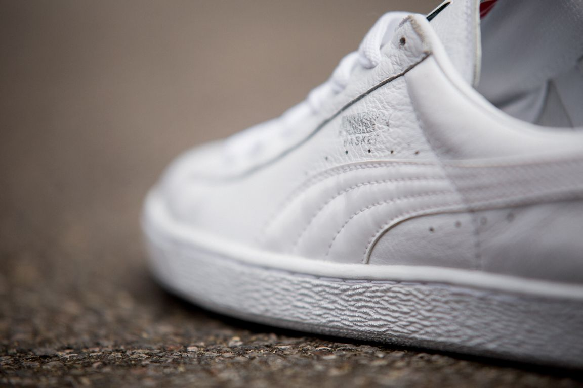 Puma Basket Black And White Pack 2