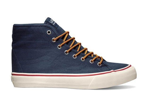 Vans Sk8 Hi Binding Blue Profile 1