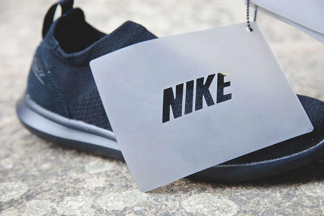 Nike Gakou Flyknit Triple Black White 2