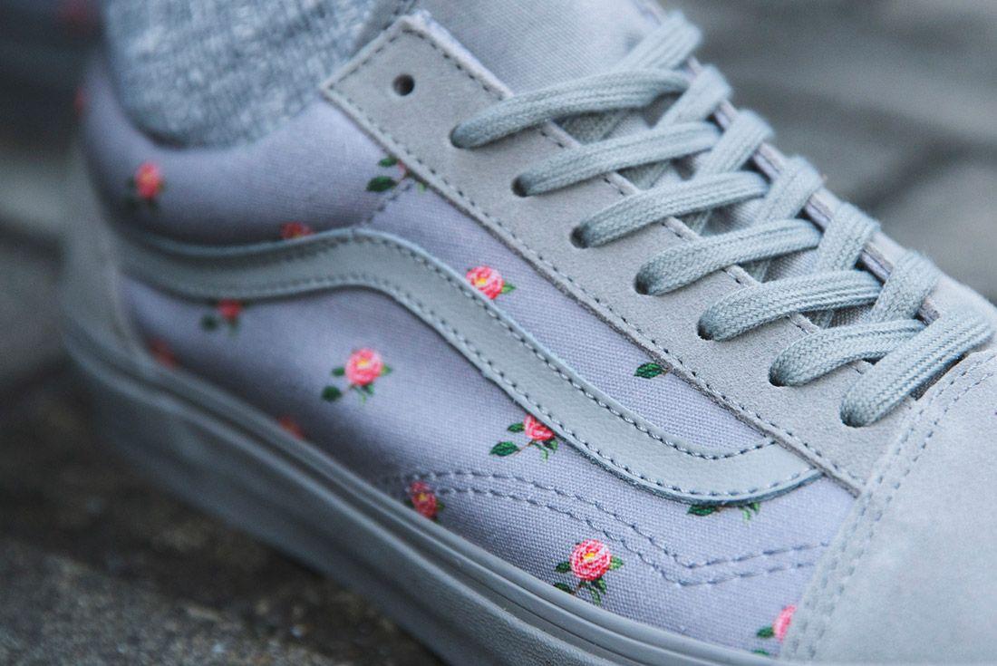 Vans Undercover Old Skool Floral Grey 4