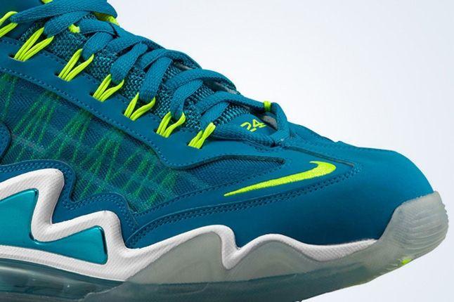 Nike Air Max 360 Diamond Griff Neo Turquoise Volt Toebox 1