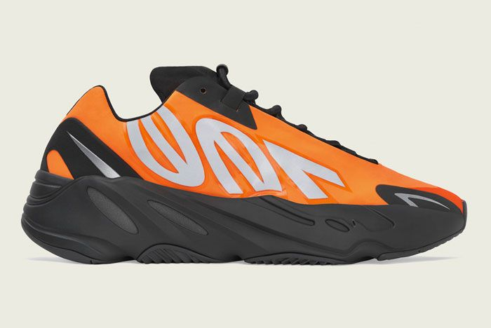 Adidas Yeezy Boost Mnvn Tangerine Right
