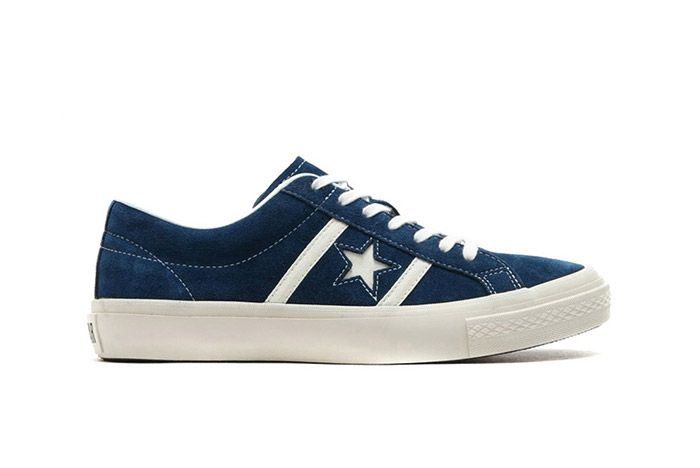 Converse Star And Bars Suede Navy 2