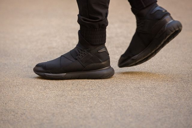 Adidas Y 3 Qasa High All Black 9