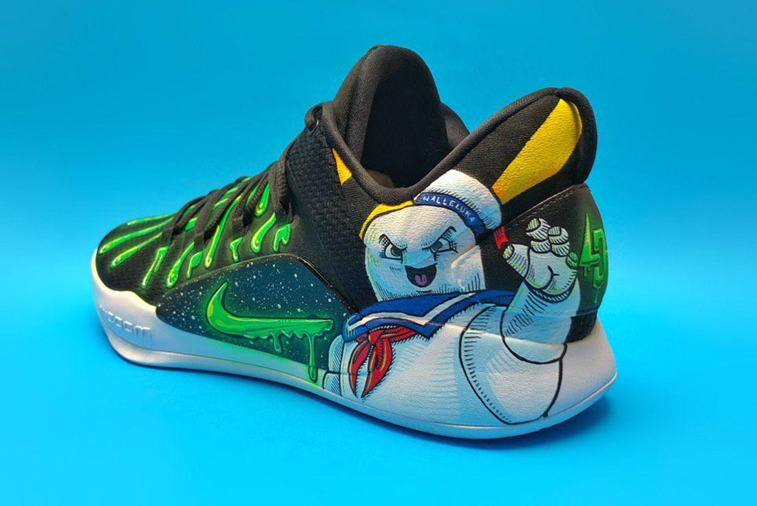 Luka Doncic's Nike Hyperdunk X Low Custom
