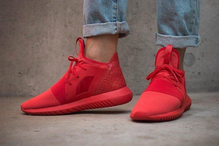 Adidas Tubular Defiant Lush Red