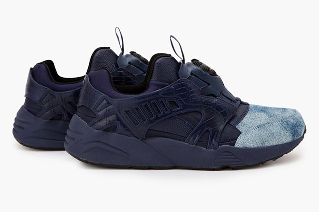United Arrows Sons X Puma Disc Blaze Indigo2
