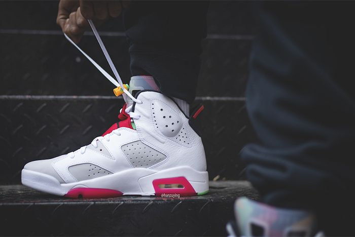 Air Jordan 6 Hare Medial