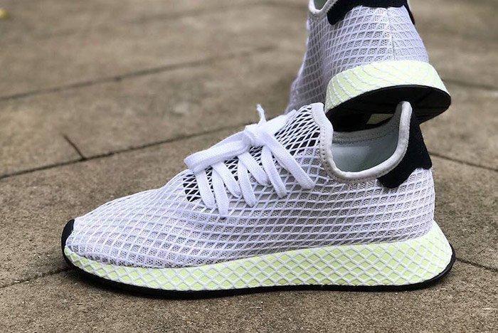 Adidas Deerupt Net White Black 2