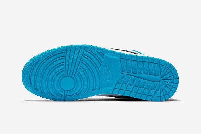Air Jordan 1 Low Laser Blue Sole