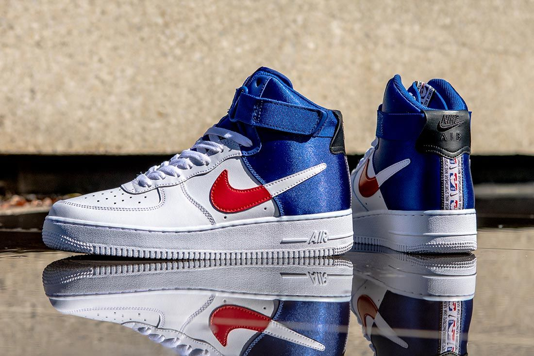 Nike Nba Air Force 1 High Left Side And Heel