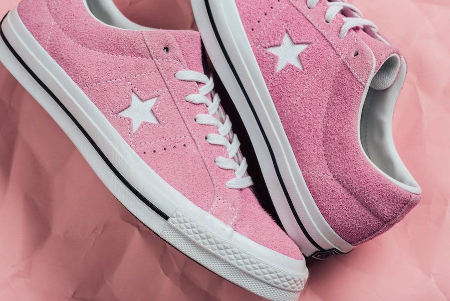 Converse One Star Low Cotton Candy Pack Pink