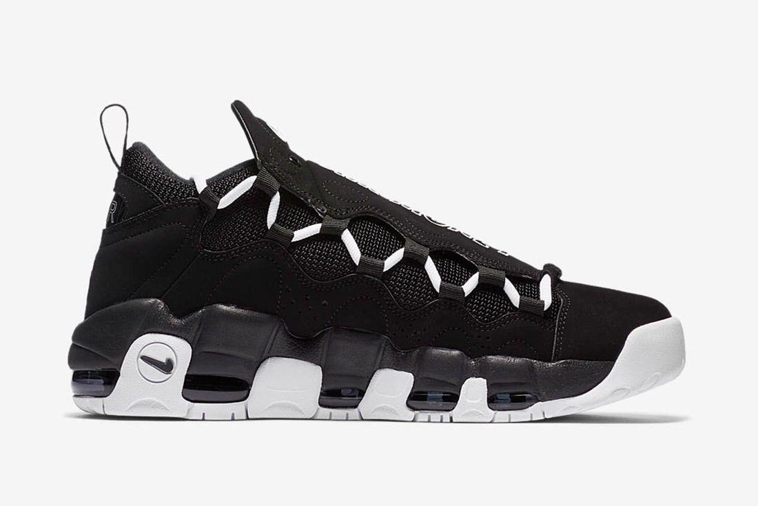 Nike Air More Money Black White 7