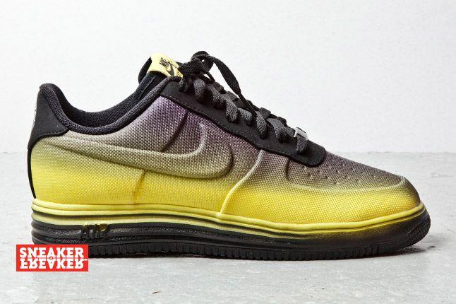 Nike Lunar Force 1 Low Black Yellow 1 2