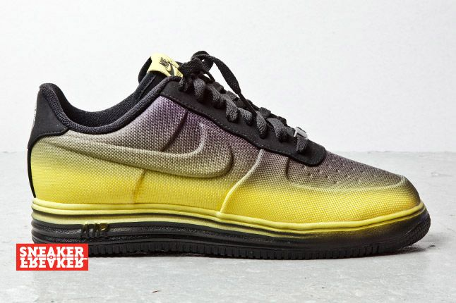 Nike Lunar Force 1 Low Black Yellow 1 2