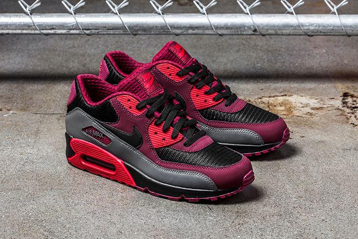 Nike Air Max 90 Crimson Black 1