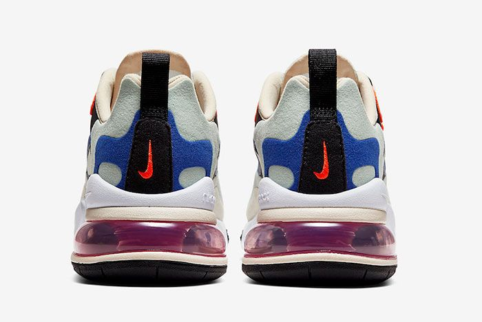 Nike Air Max 270 React Fossil Hyper Royal Pistachio Frost Ci3899 200 Heel