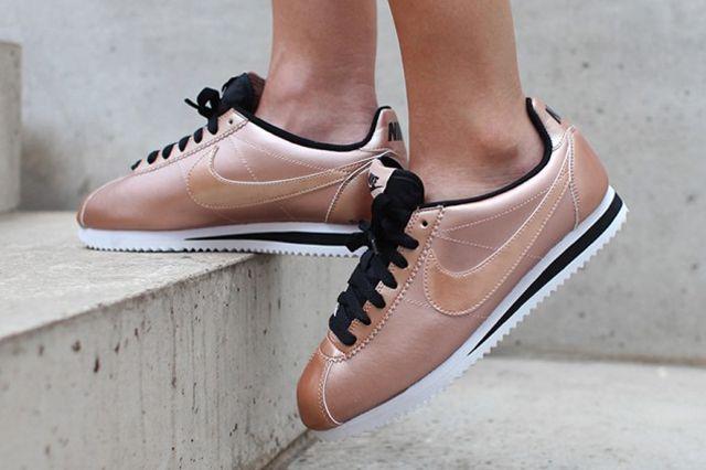 Nike Cortez Classic Wmns Bronze1