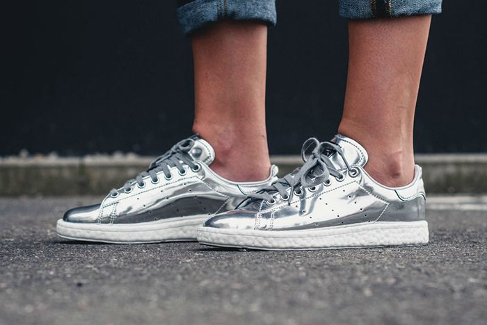 Adidas Stan Smith Boost Silver4