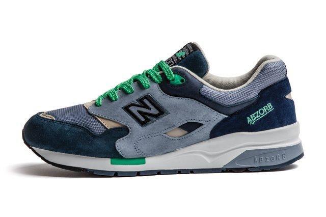 New Balance 1600 Green Navy Grey 1